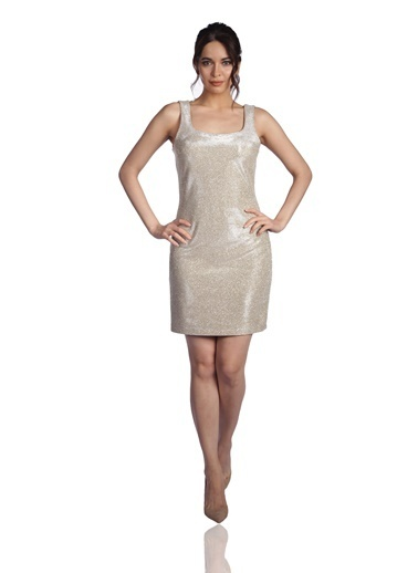 6ixty8ight Elbise Altın